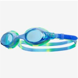Очки для плавания Tyr Kids Swimple Tie Dye, LGSWTD/487 (Голубой)